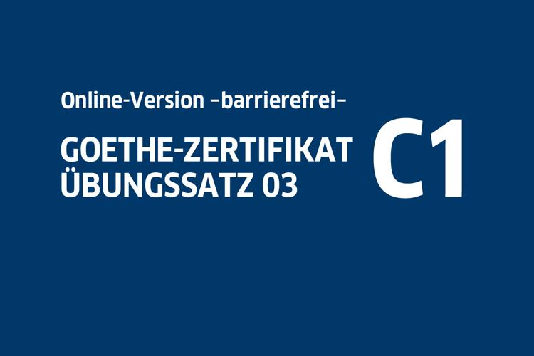 Startbild von Übungssatz C1 03