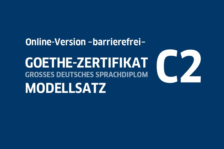 Startbild von Modellsatz C2