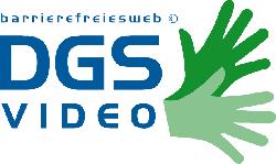 Das Logo Gebärdensprache beschreibt die Begrüßungsgeste